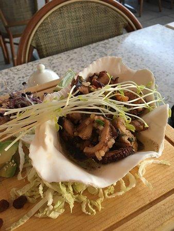 Stansstad, Switzerland: Lauwarmer Octopus-Salat