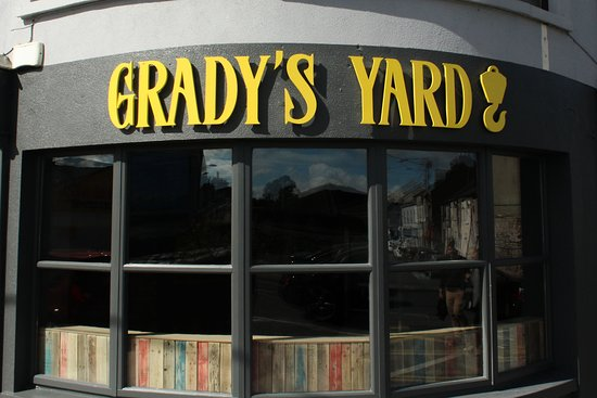 Welcome to Grady's Yard, John's Bridge, Waterford.