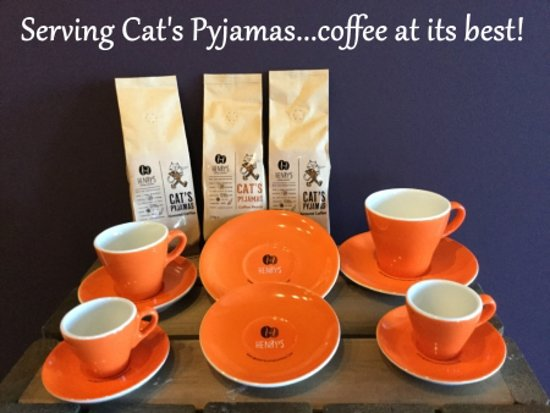 Dunning, UK: Henry's Cat's Pyjamas - great quality coffee on offer