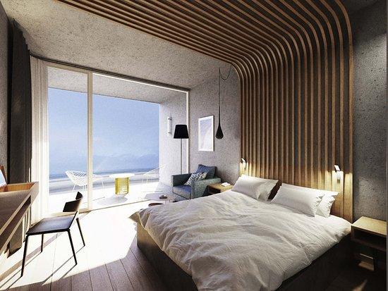 Novotel Thalassa Le Touquet : Guest room