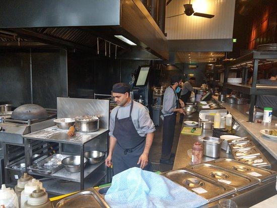 Live Kitchen Picture Of Dishoom Edinburgh Tripadvisor