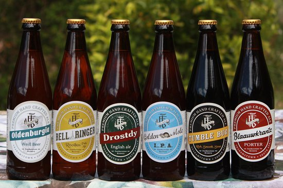 Grahamstown, Afrique du Sud : Our beers