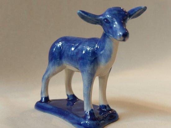Heinen Delfts Blauw De Munt