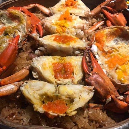 新鮮的海鮮料理