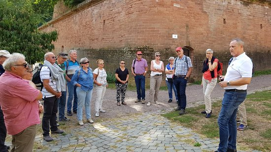 Stadt- und Festungsmuseum: Interesting guided Tour for groups.