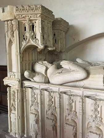Yarpole, UK: Monument to Sir Richard and Lady Croft in St Michael's church