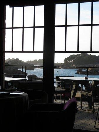La Table de mon Pere: The view from the restaurant