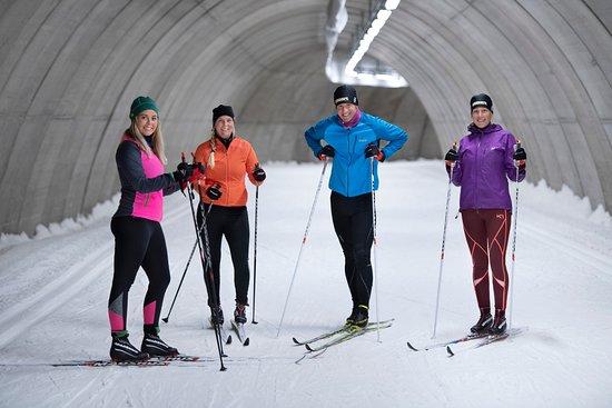 Torsby, Suecia: Ta med dina vänner och träna i skidtunneln