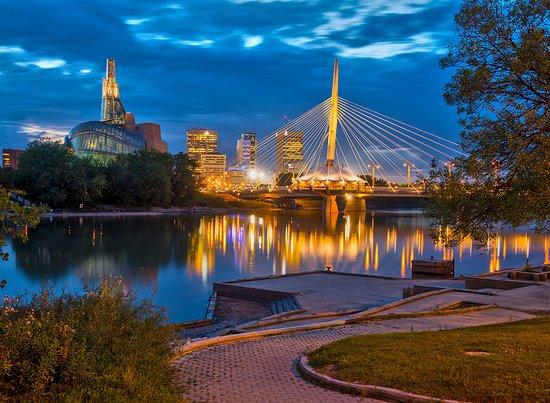Cảnh đẹp tại Manitoba