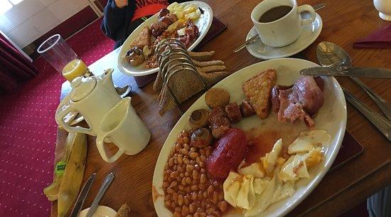 Littledean, UK: Hearty Breakfast.