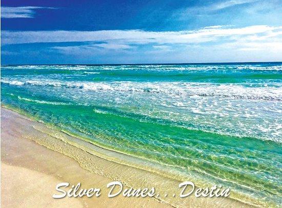 Silver Dunes Condominium: Our beautiful private beach!