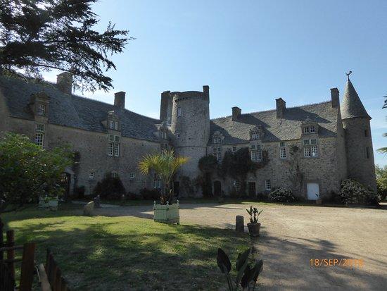 Vauville, Frankreich: Château des propriétaires