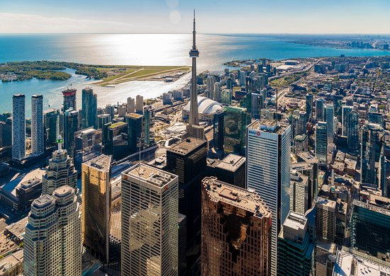 Toronto, Canada: The views are different here