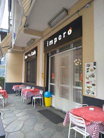 Locana, Włochy: Entrance...