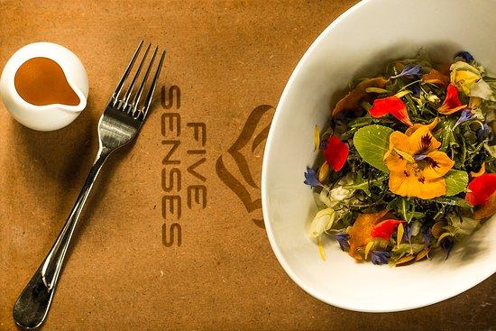 Nairobi Region, Kenia: Our beautiful Seasonal Salad