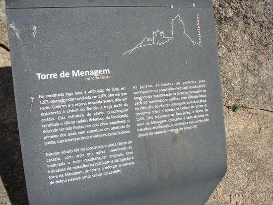 Castelo Novo, Πορτογαλία: Informação