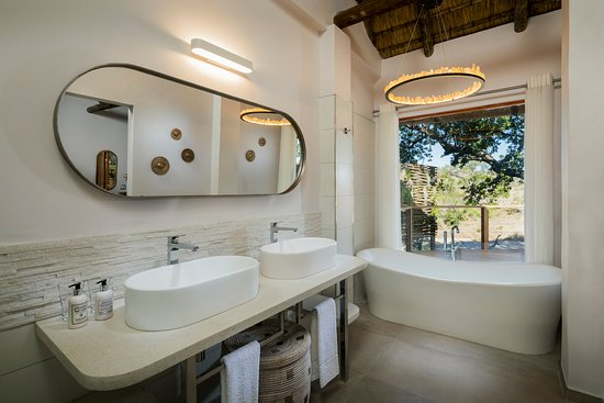 Ulusaba Private Game Reserve, África do Sul: Safari Suite bathroom