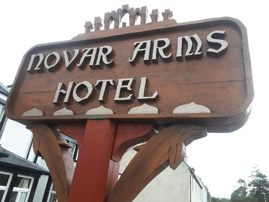 Evanton, UK: Novar Arms Hotel