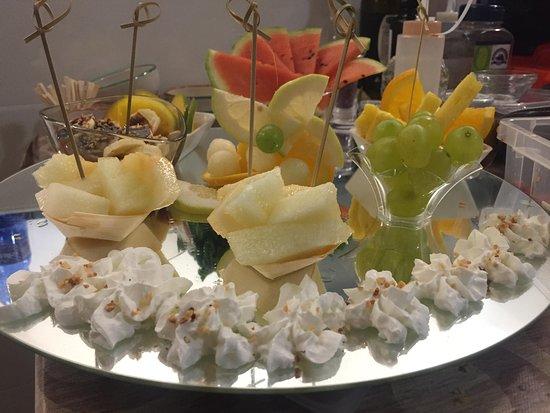 Spe Spazio per Enna : tagliata di frutta