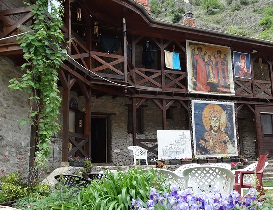 Prizren, Kosowo: Holy Archangels Monastery today