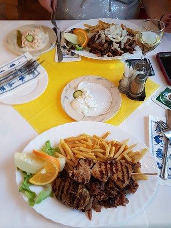 Restaurant Aphrodite : Fleischteller