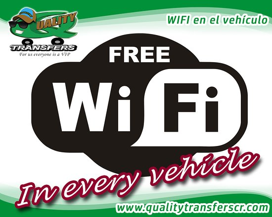Quality Transfers: Wi fi on board
