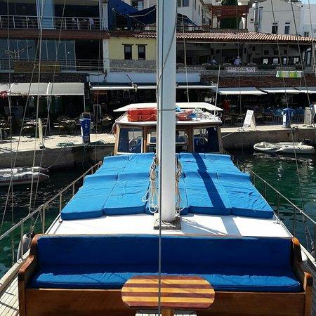 Датча, Турция: Deniz rüzgarı yatcilik