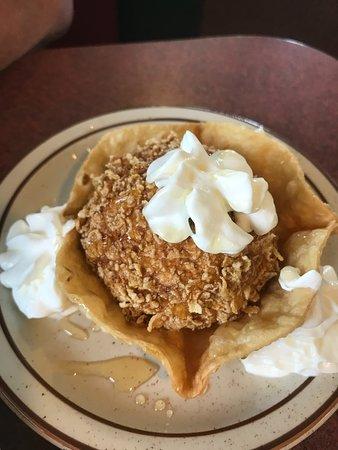 Pojoaque, Nuevo Mexico: Fried ice cream