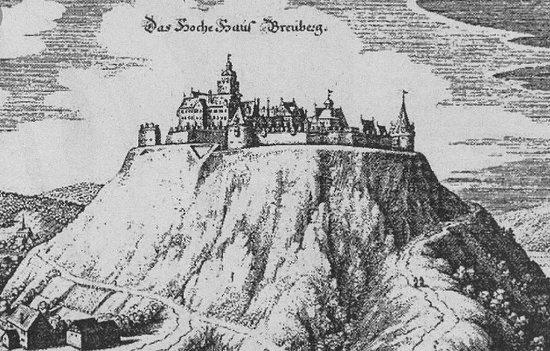 Burg Breuberg - Kupferstich