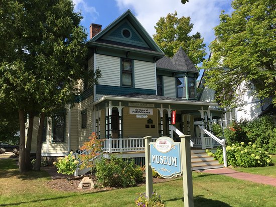 The Charlevoix Historical Society Museum at Harsha House