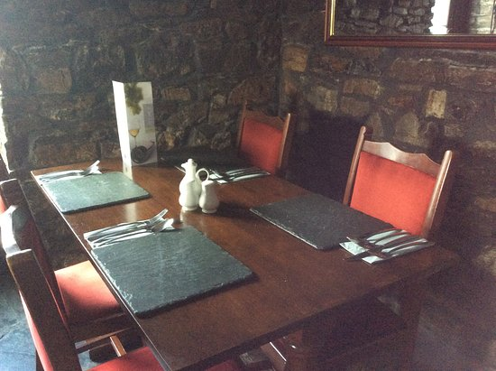 Mary Tavy, UK: Dining room