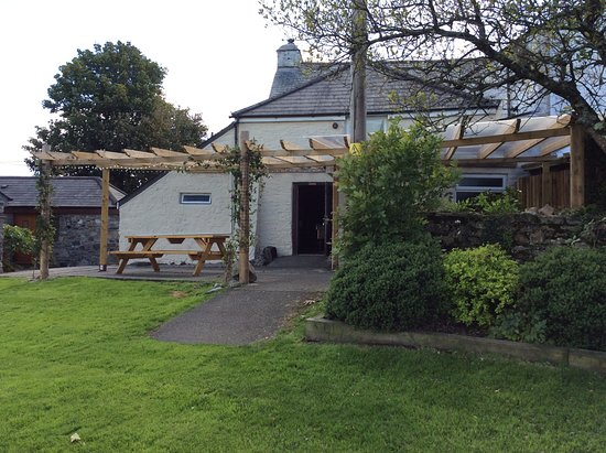 Mary Tavy, UK: Beer garden