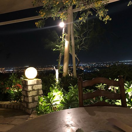 Incredible view and food