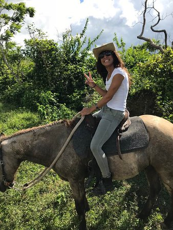 Jasmine, one of the owners and trail guide.