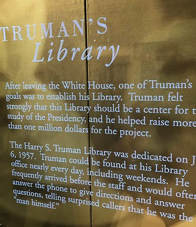 Harry S. Truman Library and Museum: Truman post presidency: I loved this tidbit...
