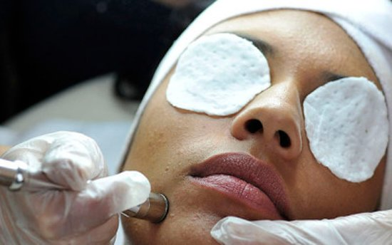 Schedule an appointment for an anti-aging, high frequency