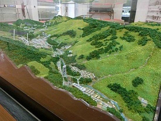 Bibai, Japan: 立体模型