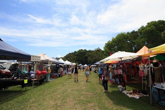 Байрон-Бей, Австралия: Enjoying a sunny Sunday arvo at the Byron Community Market