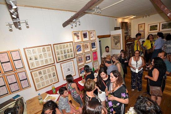 San Jose de Maipo, Χιλή: Exposición premios nacionales de arte Gracia Barrios y José Balmes