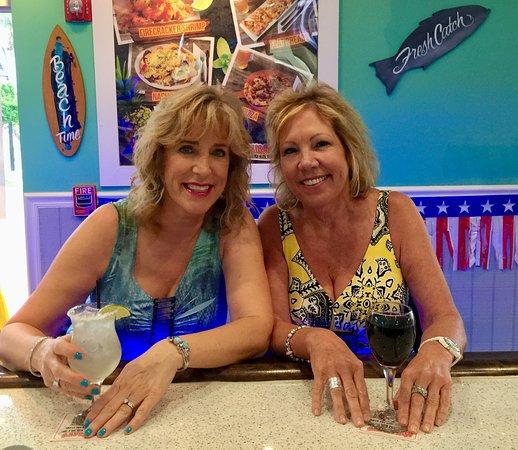 Great margaritas at the bar!