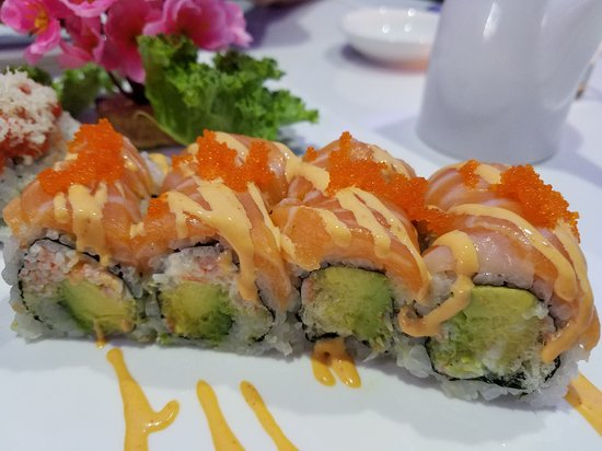 Sicklerville, NJ: close-up of another special roll