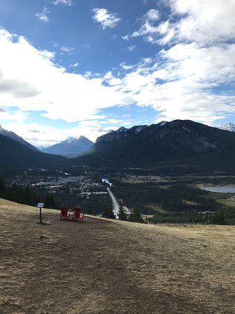 Spectacular views and plenty of wildlife. Ski hill looks awesome even in September.
