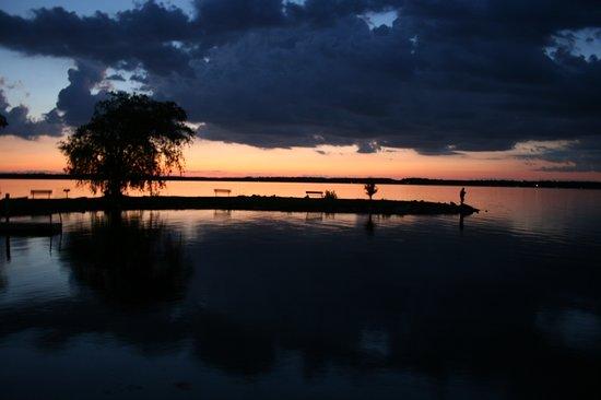 Sunset over Bear Lake