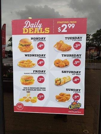 monday food deals toronto
