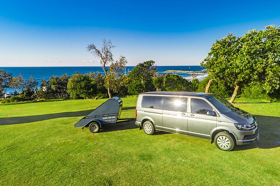 Newrybar, Australien: Luggage trailer is complimentary