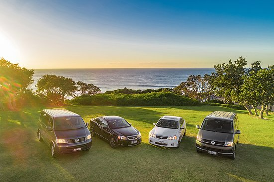 Newrybar, Australien: Fleet of executive sedans and luxury people movers that fit up to 8 passengers