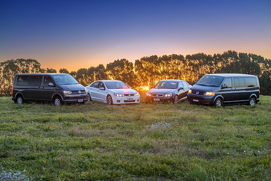 Newrybar, Australia: Our fleet of executive sedans and luxury people movers for up to 8 passengers