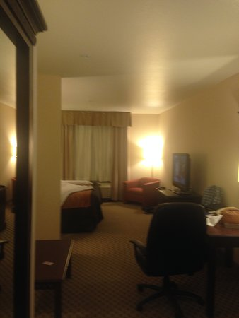 Comfort Inn & Suites Henderson: King suite from entrance