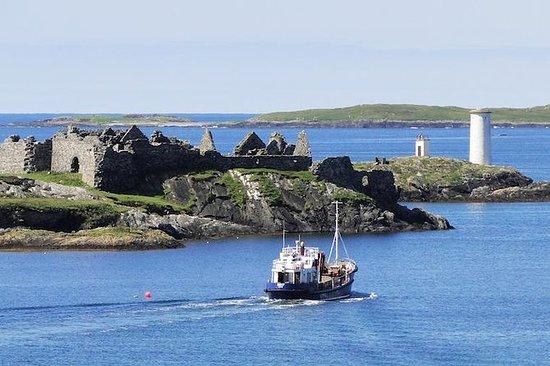 Magical Inishbofin Island sur la côte...
