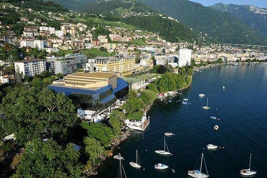 Busfahrt von Genf nach Montreux